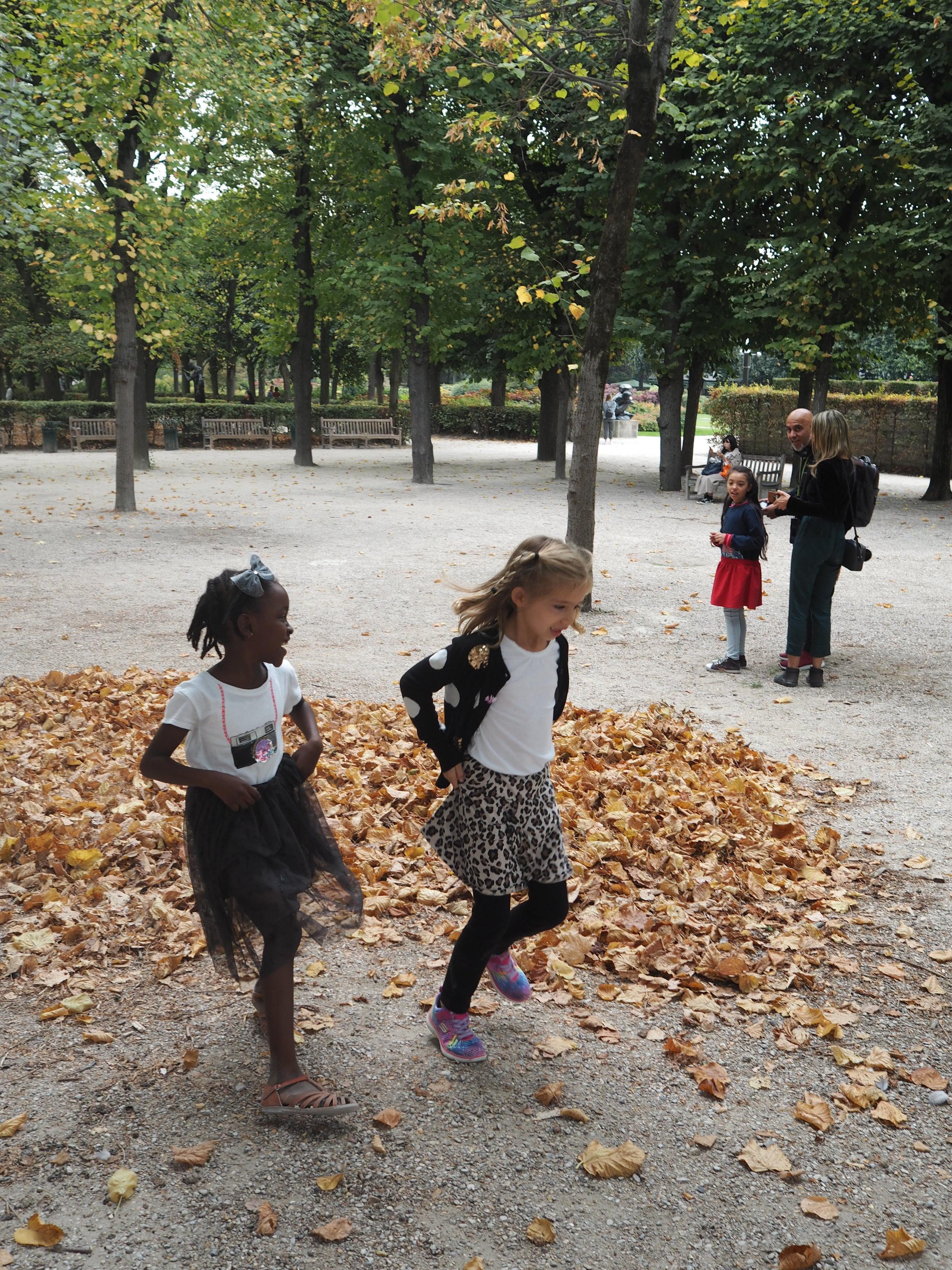 autumn leaves = joy