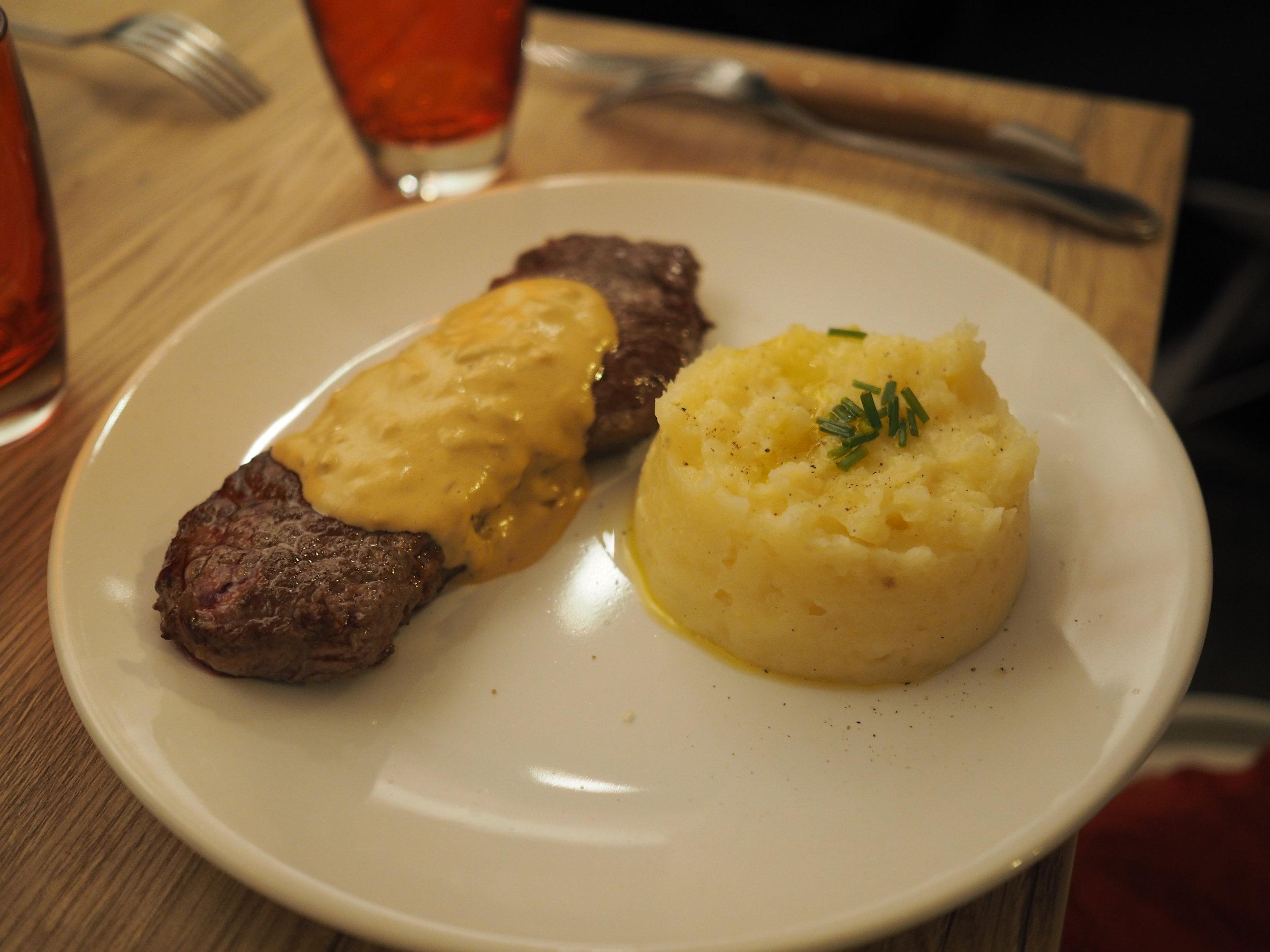 that steak. no words.