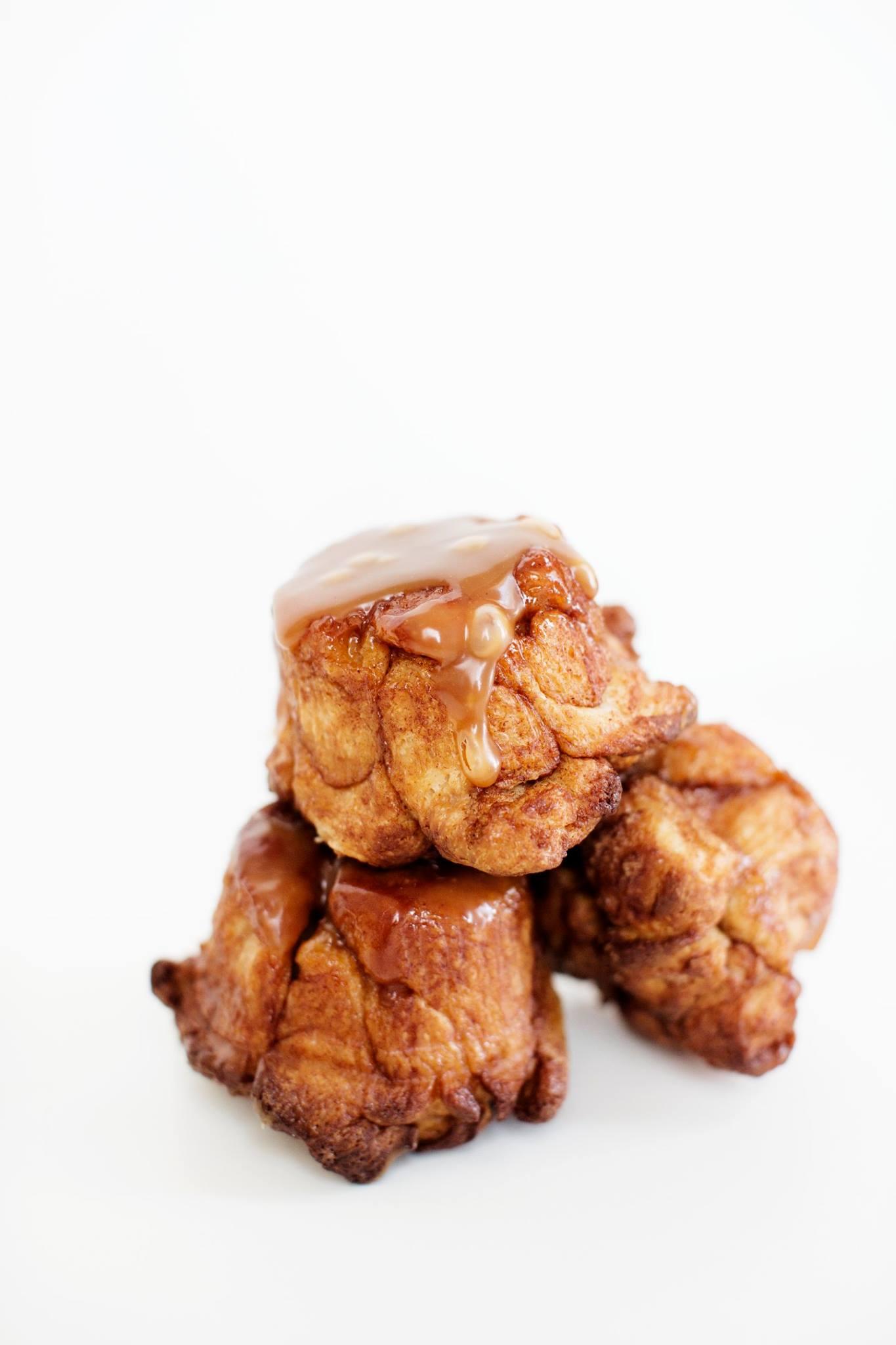 """Monkey Bread with Honey-Bourbon Sauce"" Food & Wine Magazine"