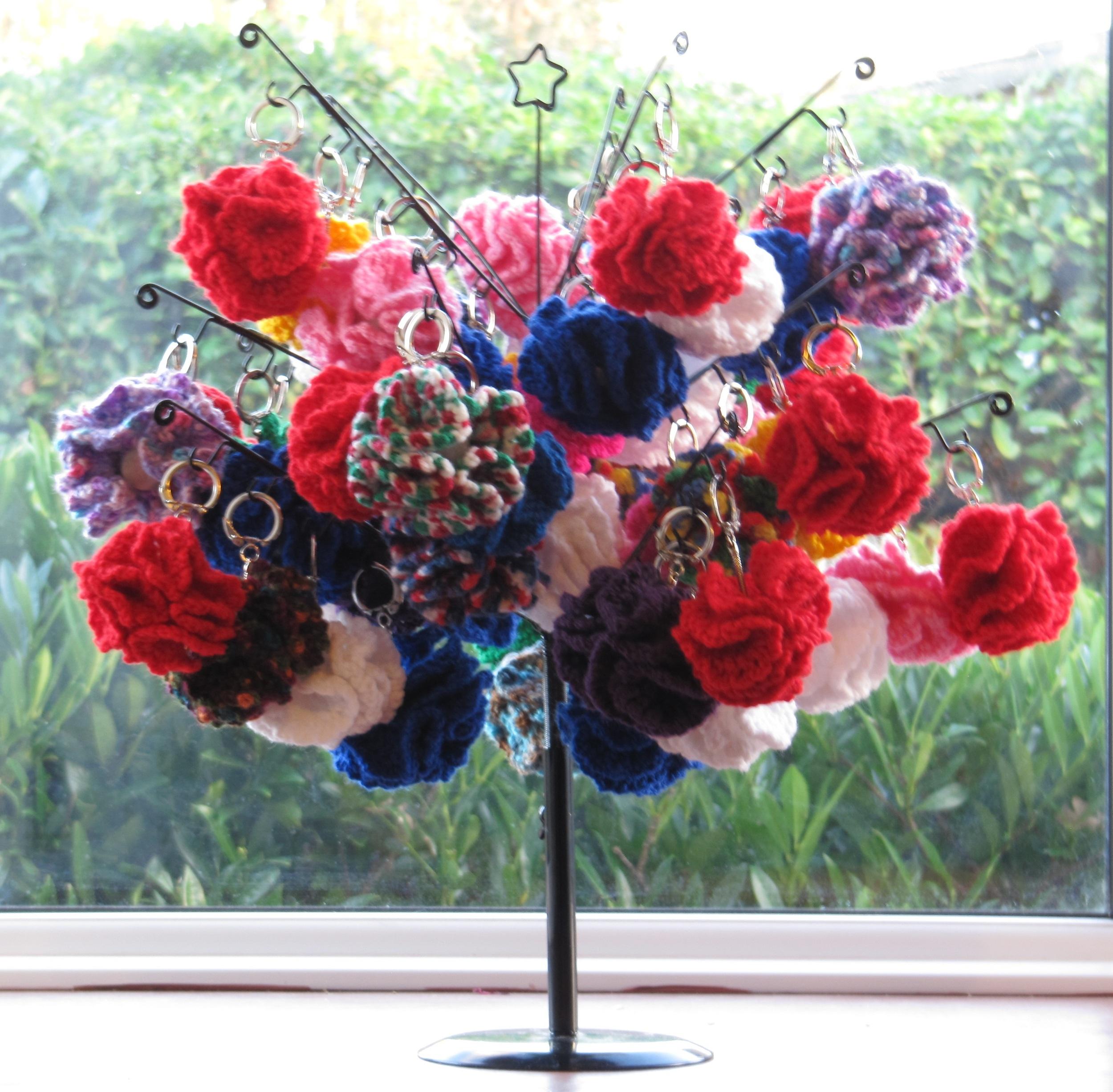 Flower Keyrings