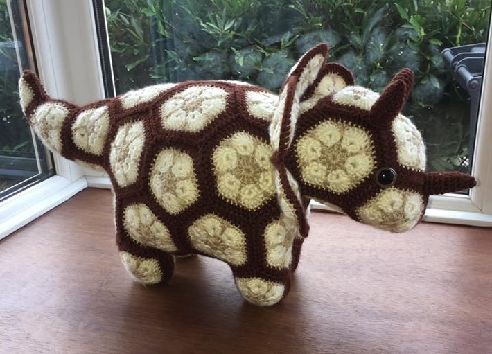 """""""Plod"""" - The African Flower Triceratops"""