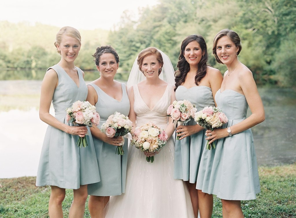 Stained dress on the far right! Can't tell, can you?! | Photography by Rylee Hitchner