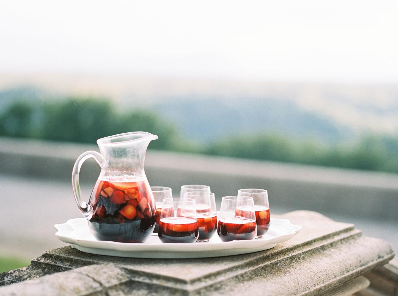Sangria Wedding Cocktail