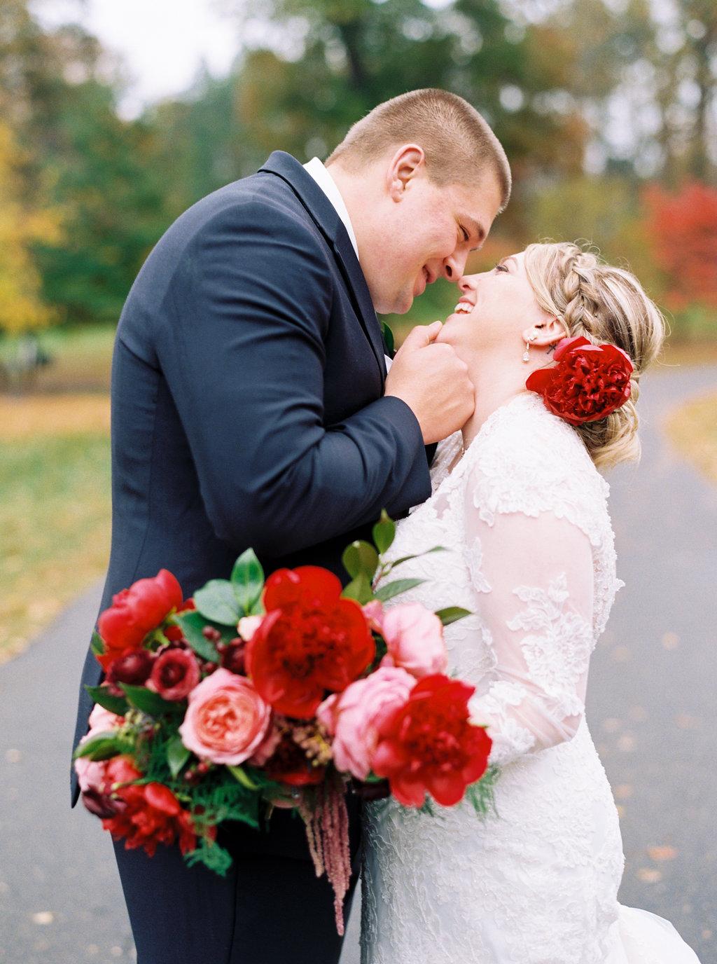 Wedding in Reynolda Village