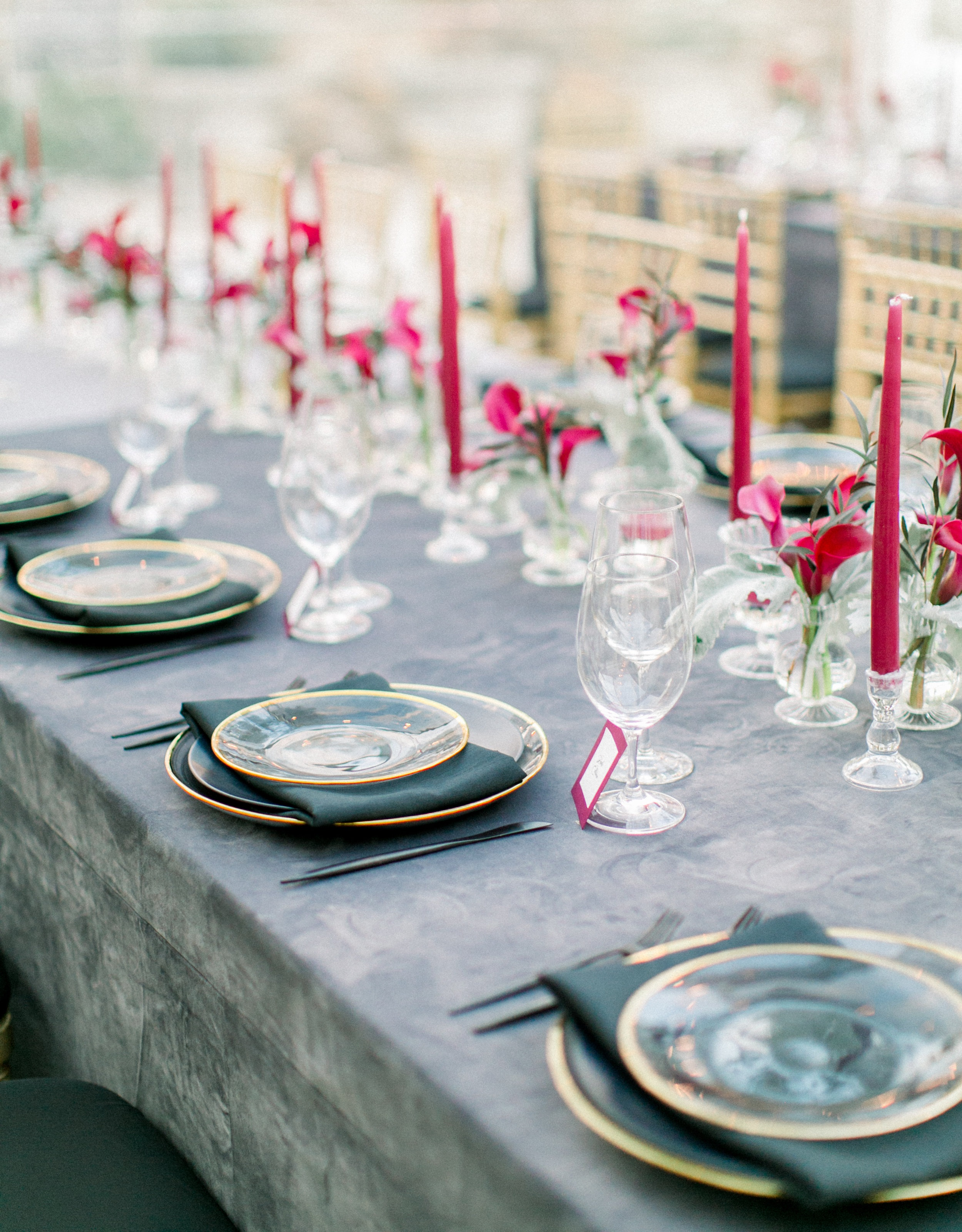 Rehearsal Dinner at Graylyn by Rebecca Rose Events