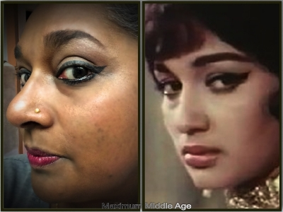Me and one of the two famous Ashas I share a name with; Asha Parekh in the 1966 Bollywood blockbuster, Love in Tokyo