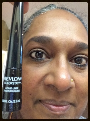 The less expensive liquid liner works just as well. You don't have to spend a fortune.