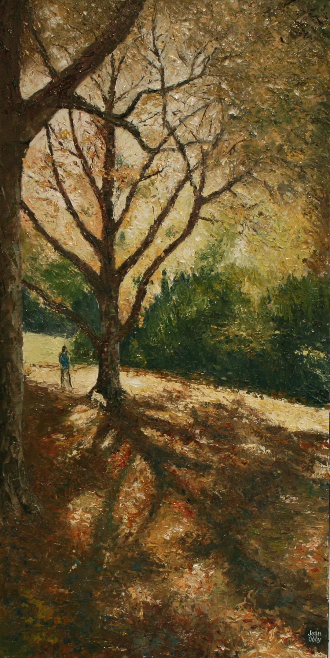 """""""Autumn Idyll"""" Oil on canvas Joan Oddy"""