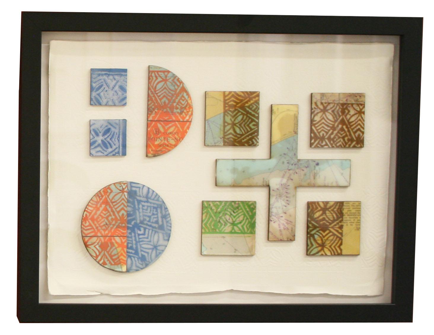 """Girts from Tangaroa"" 1/2 Printmaking Shona Sangster"