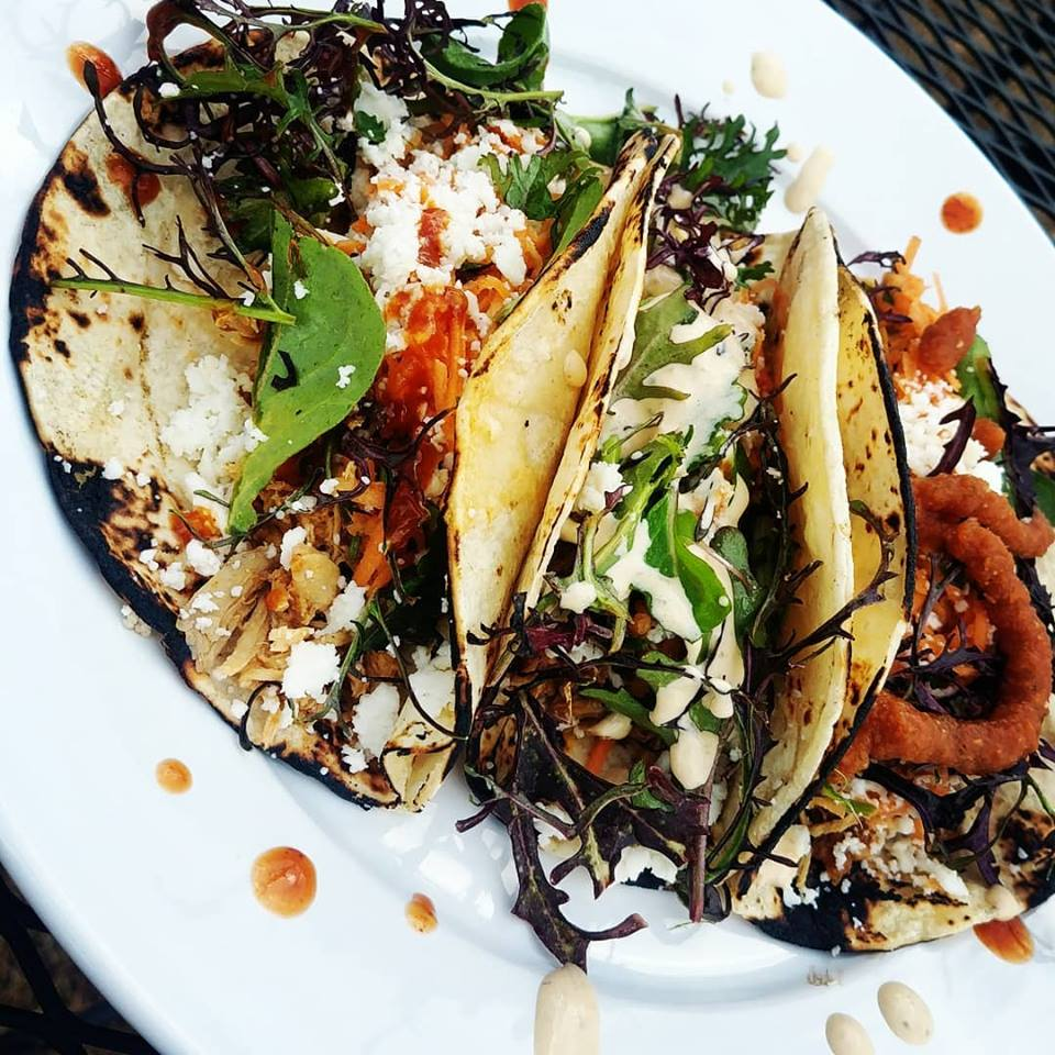 A tasty sampling from one of our taco days!