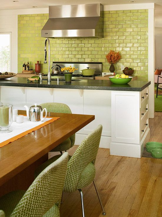 Apple Green Kitchen