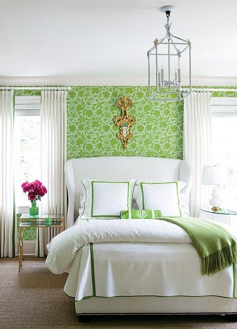 Apple Green Master Bedroom