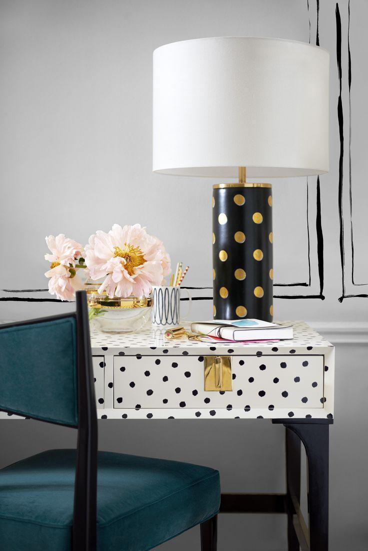Kate Spade Desk & Lamp