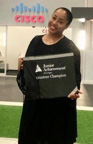 JA Volunteer Karen Francis
