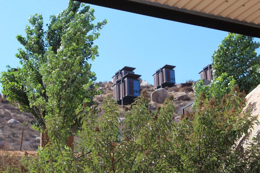 Encuetro Guadalupe Accommodations with amazing views of the Valle
