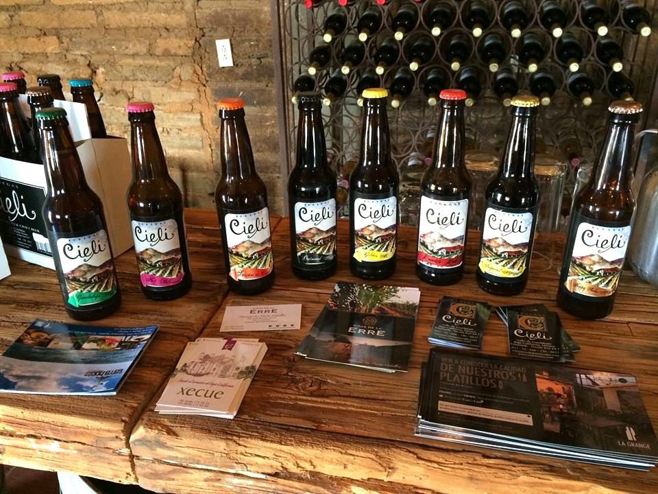 Ciele Micro Brews on site at it's location in the Valle