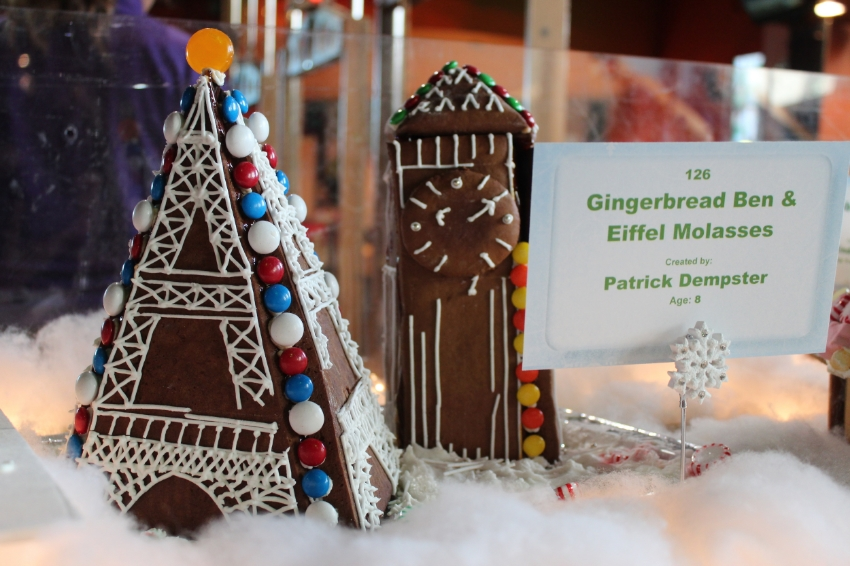 Be inspired by one of the many Gingerbread creations on display.