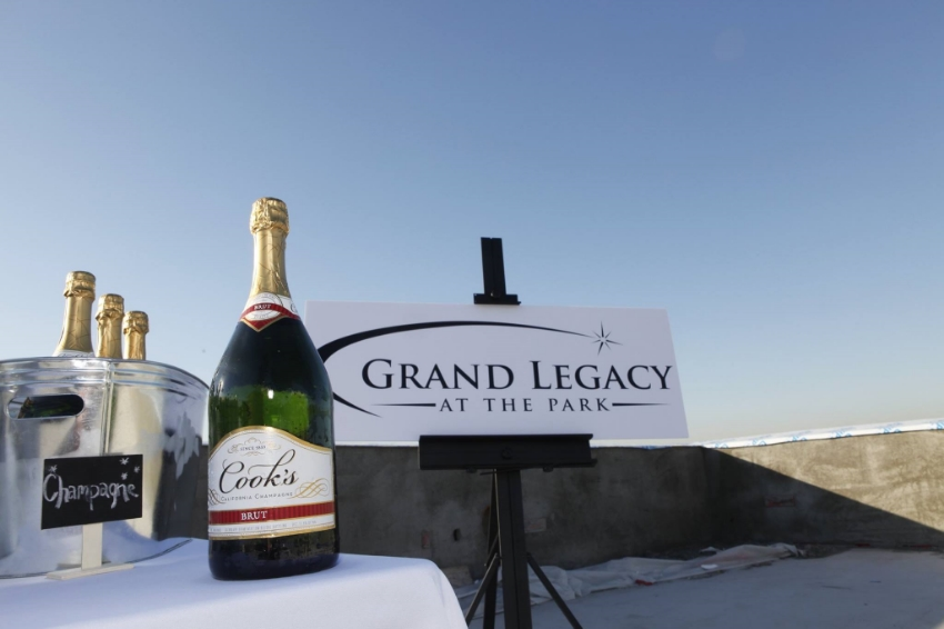 Hardhat media Tour/Roof Top Bar area. Photo Credit: Grand Legacy at the Park