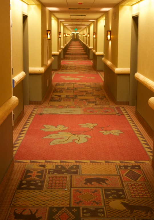 The decor is so warm and welcoming and is carried throughout the lodge.  Photo Credit: Great Wolf Lodge