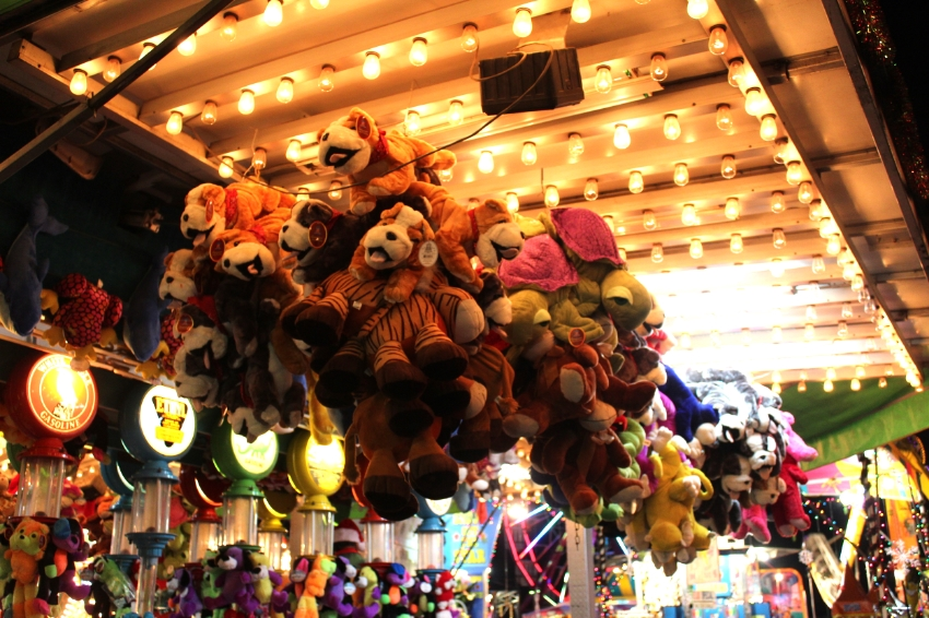 Try your luck at one of the 30 Carnival Games and Rides.