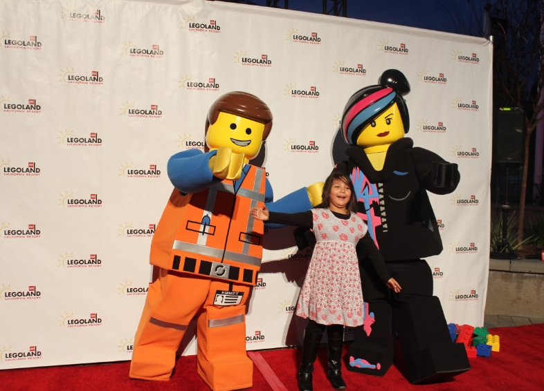 Photo Opp with the stars of The Lego Movie