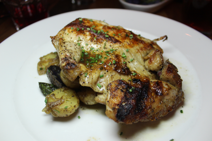Half Roasted Jidori Chicken grilled to perfection