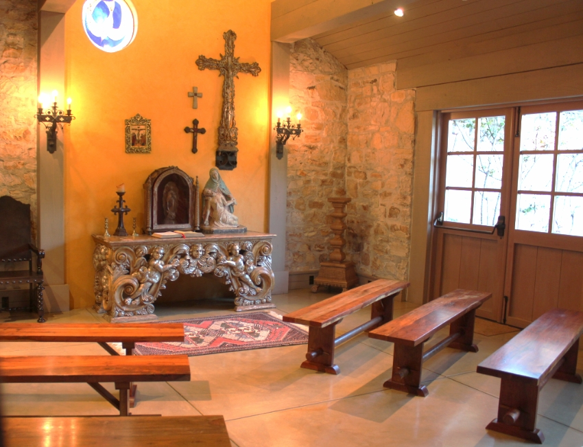 The Chapel within the ranch, perfect right?