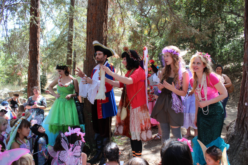 From Faeries to Mermaids, Pirates and Gnomes, It's fun for both boys and girls alike!
