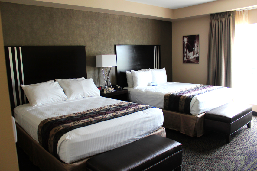 New Suites: Offering extra rooms that open up to each other and stylish furnishings.