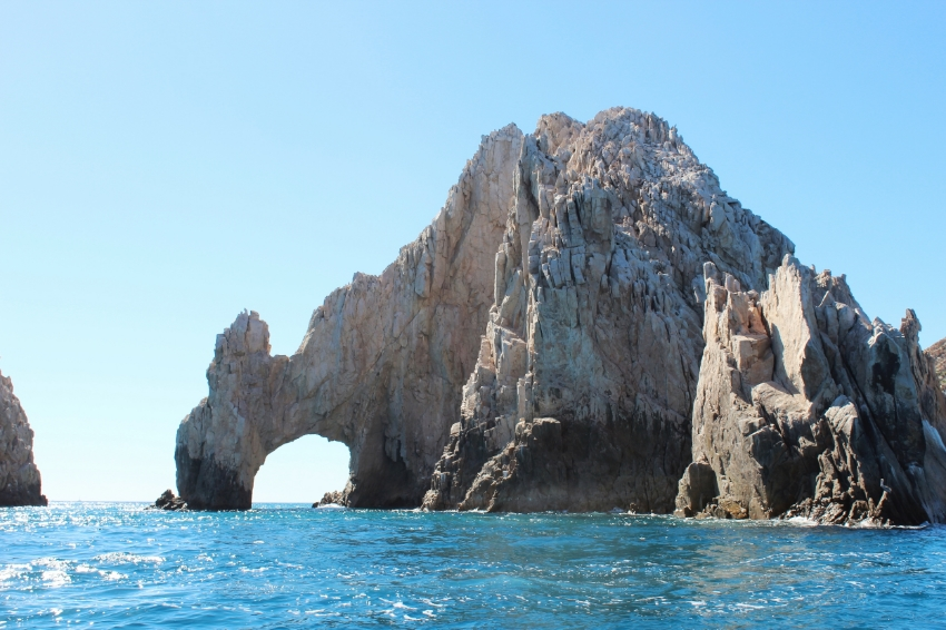 The famous Arch of Los Cabos, boat ride takes you around to the other side and beyond.