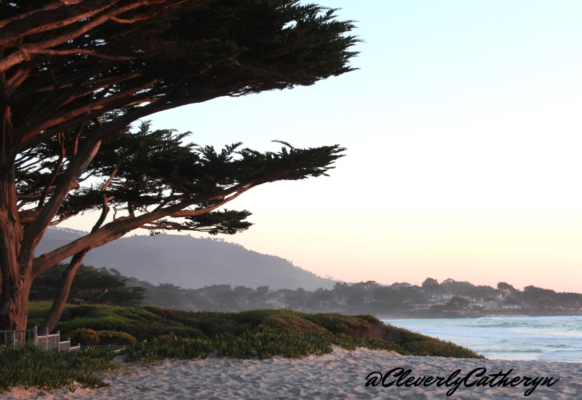 The sunsets in Carmel by the Sea are amazing and the sand is so soft between the toes.