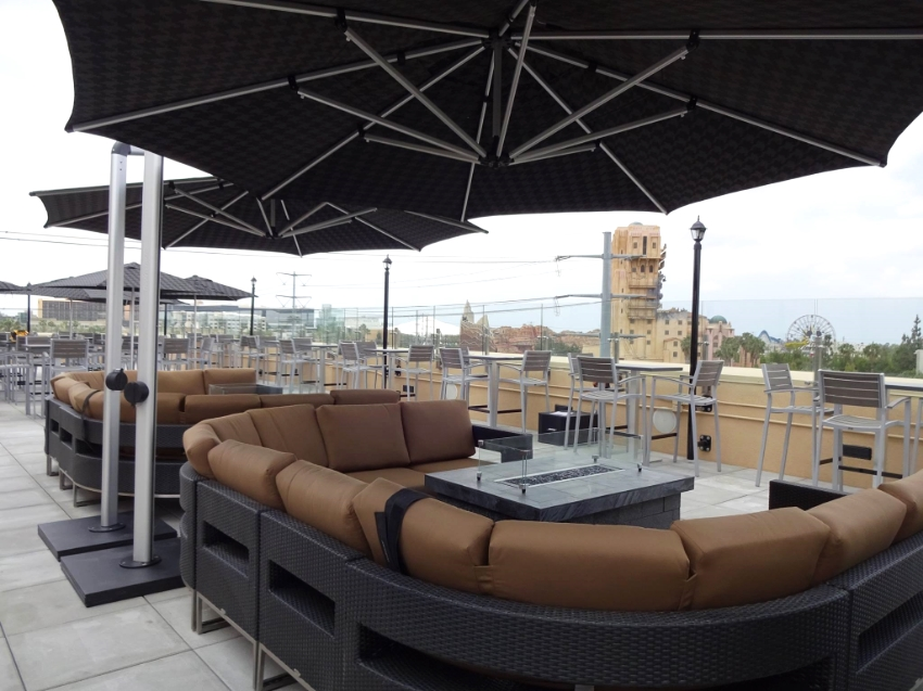 California casual seating installed and the fire pits ready to go, Who's with me?                   Photo Credit: The Fifth Lounge and Bar