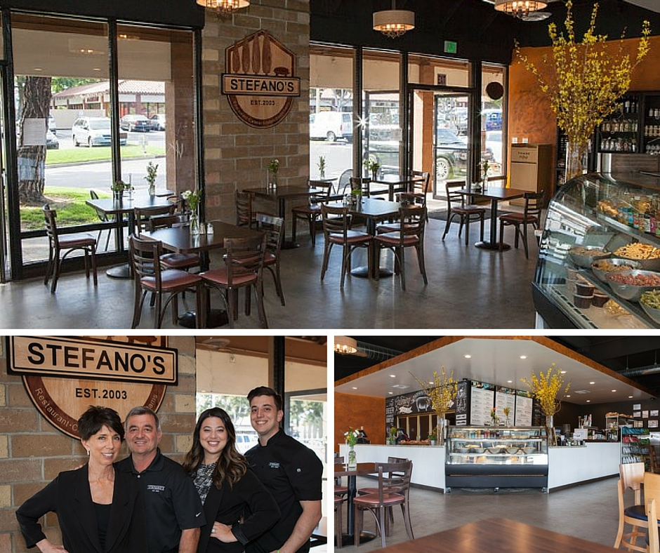 The Stefano family and the newly opened Laguna Hills location, ready to make you up some delish freshness, we look forward to trying their breakfast (served only at the Laguna Hills Location currently)