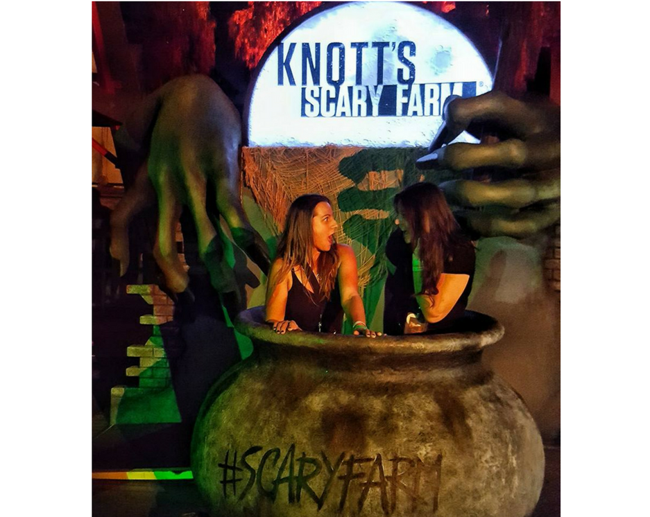Frights and fun! Knott's Scary Farm is best served dead cold.