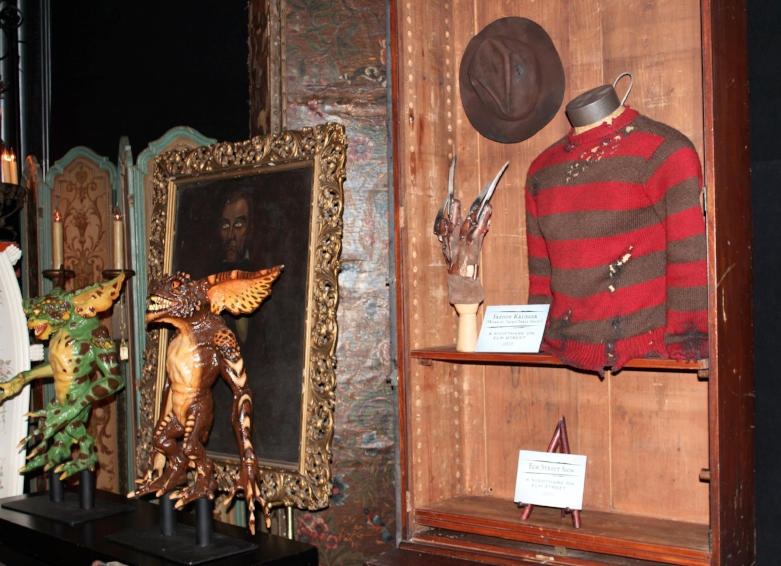 Freddy Krueger's Glove, Gremlins and Interview with a Vampire just some of the movie Props you will see within Studio 48