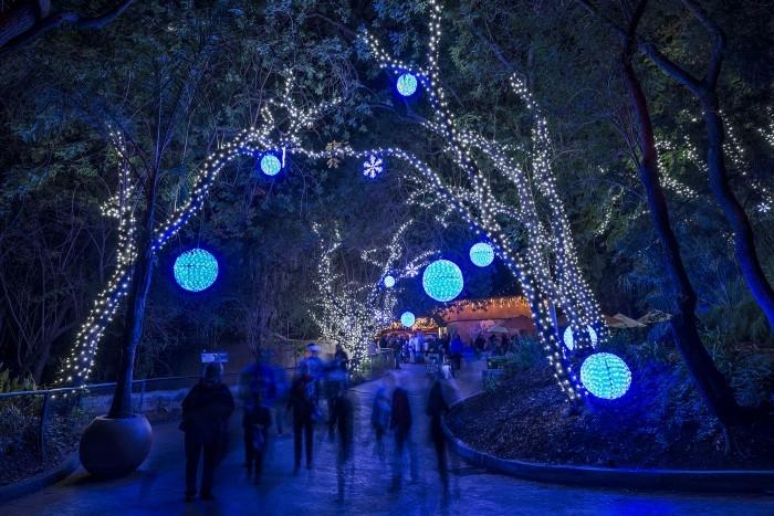 LA Zoo Lights Photo Credit: LA Zoo