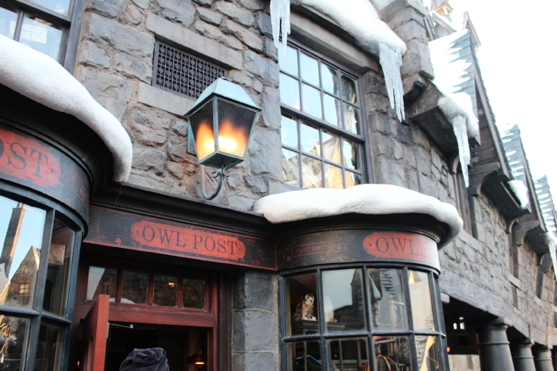 Owl Post, one of the many shops to get your HP merchandise fix along with HP Stationary.