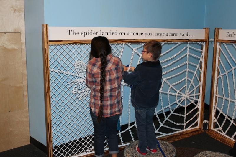 Teamwork, spin that silky web!