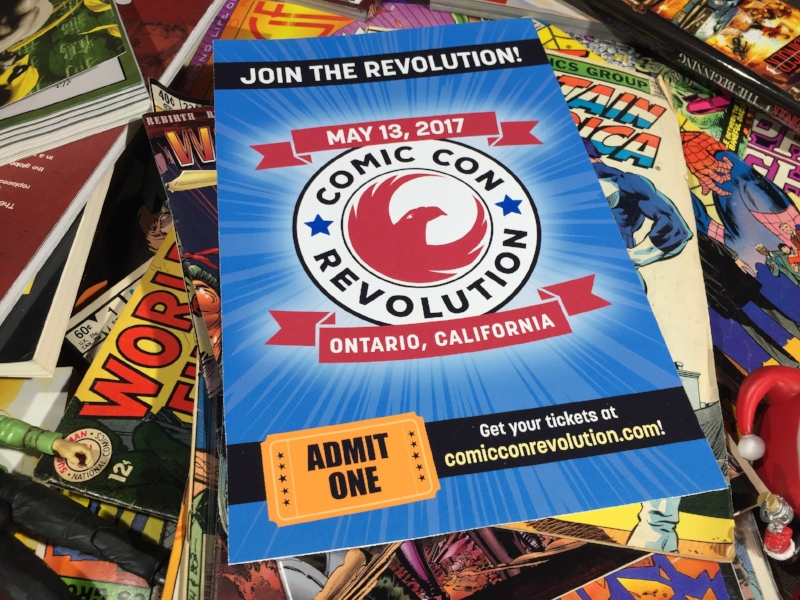 Comic Con Revolution (c) Cleverly Catheryn