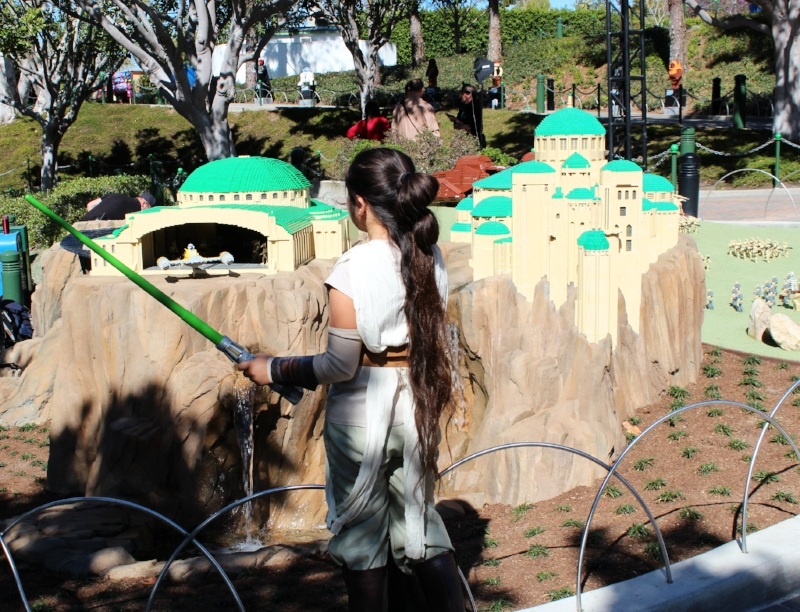 Legoland Star Wars Miniland The Force Awakens  (c) Cleverly Catheryn