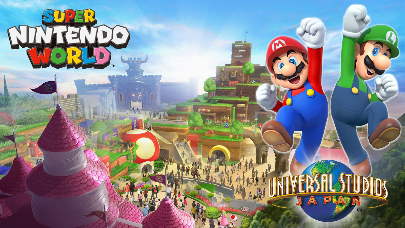 Concept Renderings for NintendoLand Japan