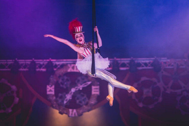 """""""SteamCirque is inspired by adventure, colored by imagination and brought to life by the amazing cast of Circus Vargas!"""""""