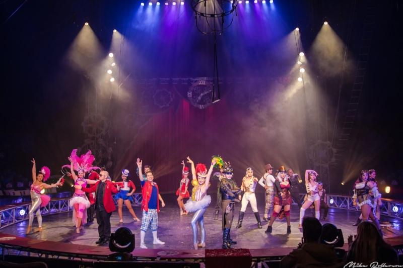 Circus Vargas Steam Cirque