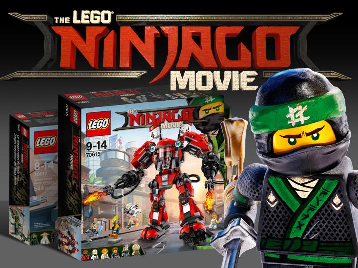Lego Ninjago Movie sets