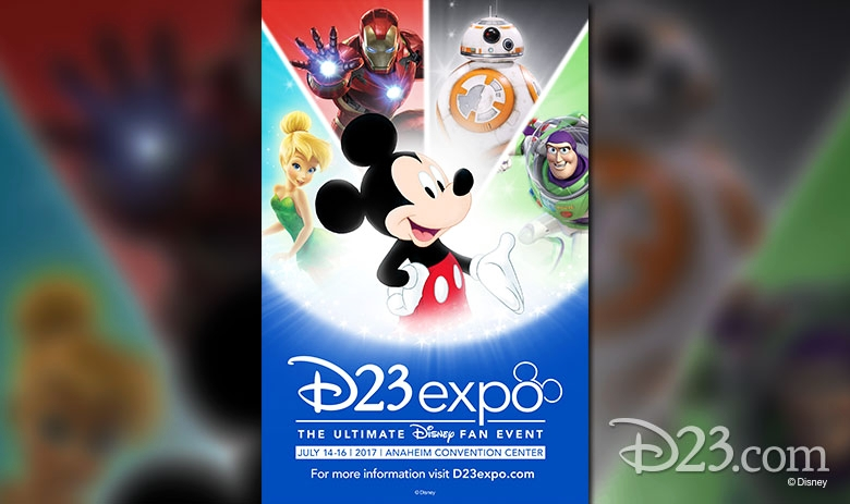 Official Banner for this years D23 Photo Via D23 site