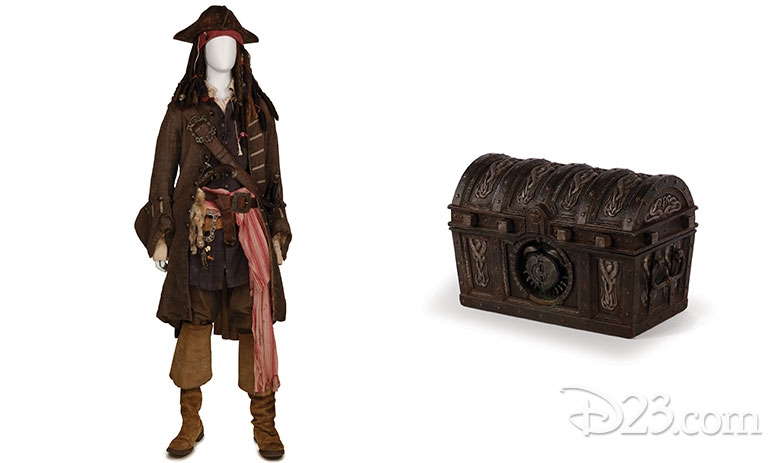 Pirates Props will be on display at D23 Photo Credit: D23