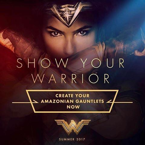 Show Your Warrior! http://showyourwarrior.wonderwomanfilm.com