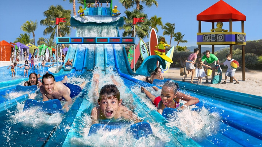 Riptide Racers Slides at Surfers Cove opening July 2017