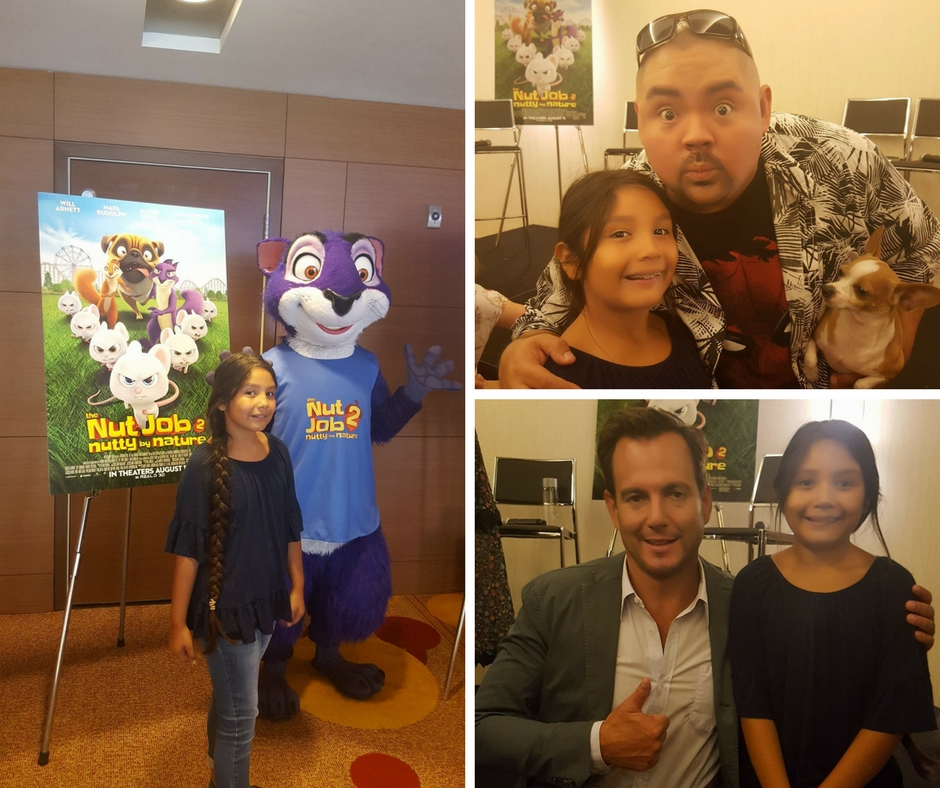 Will Arnett and Gabriel Iglesias take a moment to chat with us before the movies premiere.