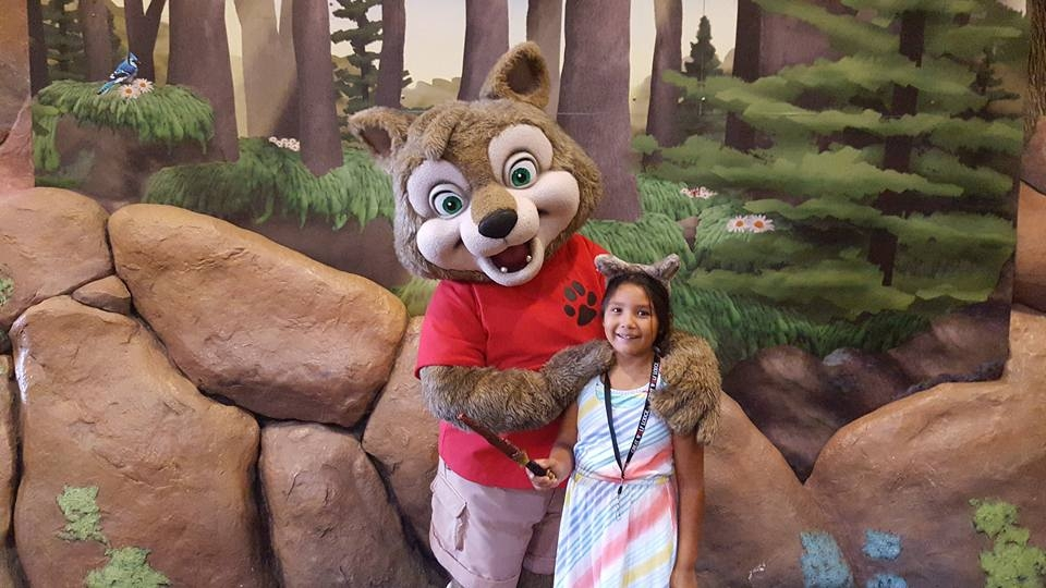 You can always get a warm hug from your friends at the Lodge!